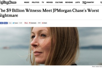 Rolling Stone article the 9 billion dollar witness